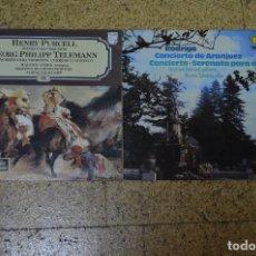 Discos de vinilo: LOTE DE 2 VINILOS DE MÚSICA CLASICA. Lote 166147230