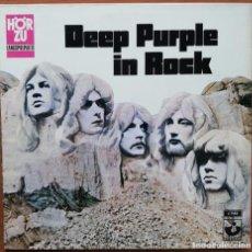 Discos de vinilo: DEEP PURPLE ?- IN ROCK LP 1970 ED ALEMANA -RARA PORTADA BLANCA GATEFOLD. Lote 166154854