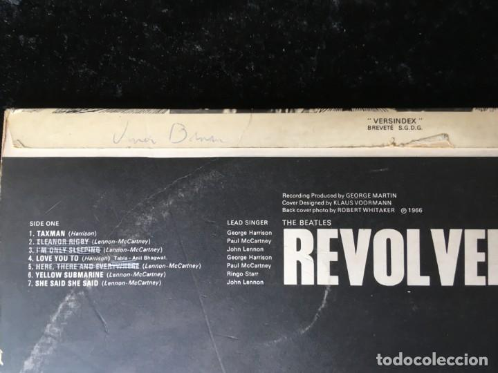 Discos de vinilo: THE BEATLES - REVOLVER - 1966 - FRANCIA - Foto 7 - 166159398