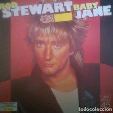 Discos de vinilo: ROD STEWART - BABY JANE (GERMANY, 1983). Lote 166173994