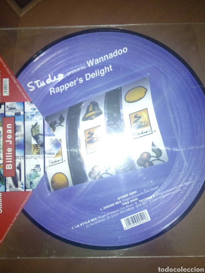 STUDIO PRESENTS WANNADOO - RAPPER'S DELIGHT BILLIE JEAN (Música - Discos de Vinilo - Maxi Singles - Disco y Dance)