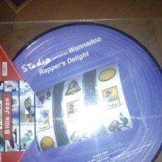 Discos de vinilo: STUDIO PRESENTS WANNADOO - RAPPER'S DELIGHT BILLIE JEAN. Lote 166191414