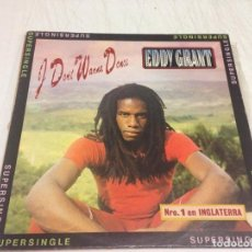Discos de vinilo: EDDY GRANT ‎– I DON'T WANNA DANCE . Lote 166196422