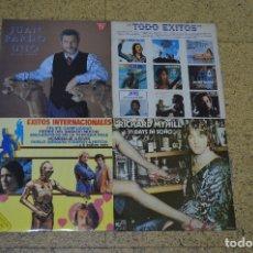 Discos de vinilo: LOTE 4 VINILOS, JUAN PARDO Y RICHARD MYHILL. Lote 166198834