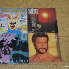Discos de vinilo: LOTE VINILOS, SAU, JUAN PARDO, JIVE BUNNY. Lote 166199362