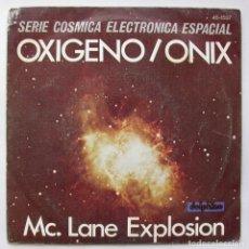 Discos de vinilo: OXÍGENO/ONIX, J.M. JARRE I PERRIER R. RIZZETELLI (HISPAVOX 1977). Lote 166200214
