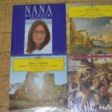 Discos de vinilo: LOTE DE 4 VINILOS DE MÚSICA CLASICA. Lote 166200586