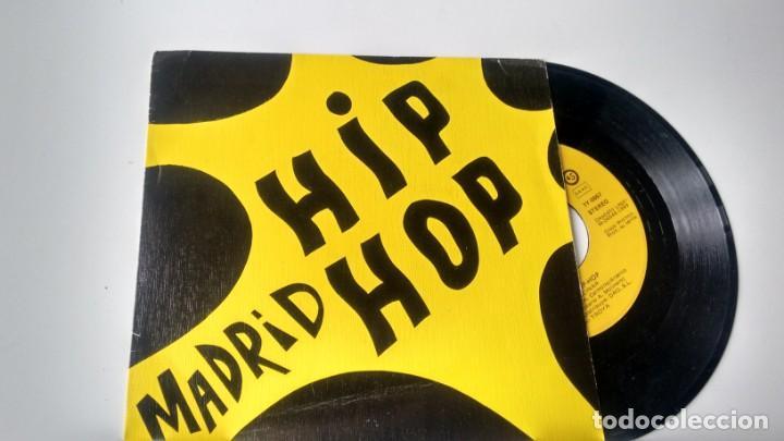 SINGLE (VINILO)-PROMOCION- DE MADRID HIP HOP AÑOS 80 (Música - Discos - Singles Vinilo - Rap / Hip Hop)