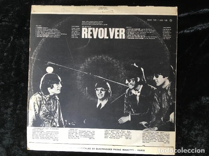 Discos de vinilo: THE BEATLES - REVOLVER - 1966 - FRANCIA - Foto 2 - 166159398