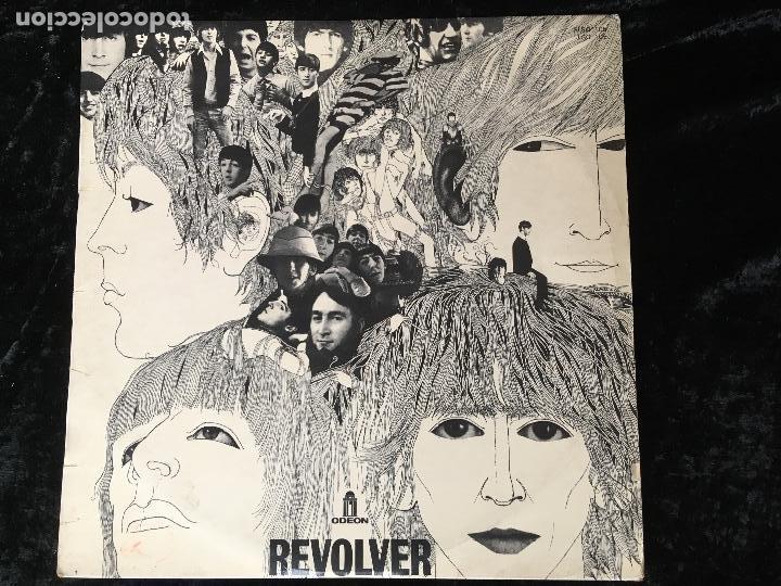 THE BEATLES - REVOLVER - 1966 - FRANCIA (Música - Discos - LP Vinilo - Pop - Rock Internacional de los 50 y 60)