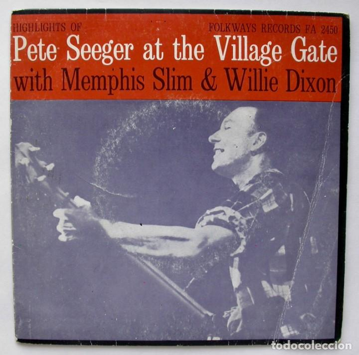 PETE SEEGER AT THE VILLAGE GATE, TINA SINGU (FOLKWAYS RECORDS 1972) (Música - Discos - Singles Vinilo - Country y Folk)