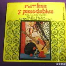 Discos de vinilo: RUMBAS Y PASODOBLES EP DISCOPHON 1971 ORQUESTA DE JOSE VALERO - . Lote 166241350