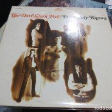 Discos de vinilo: LP ORIG USA 1968 THE DAVE CLARK FIVE EVERYBODYS KNOWS VG++/VG++EX. Lote 166244314