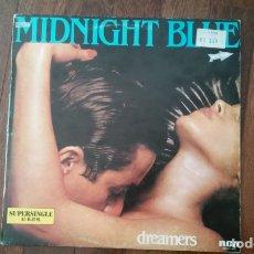 Discos de vinilo: MIDNIGHT BLUE-DREAMERS.MAXI. Lote 166259378