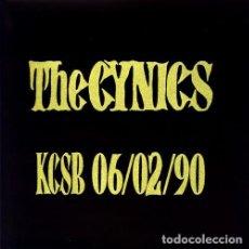 Disques de vinyle: LP THE CYNICS LIVE KCSB 06/02/90 VINILO GARAGE. Lote 177879109