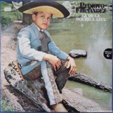 Discos de vinilo: VINILO PEDRITO FERNANDEZ LA DE LA MOCHILA AZUL 1979. Lote 166273080