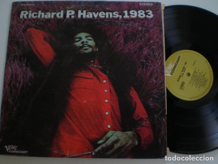 RICHIE HAVENS RICHIE P. HEAVENS, 1983 - DOBLE LP ORIGINAL USA VERVE 1969 // PSYCH FOLK ROCK (Música - Discos - LP Vinilo - Pop - Rock Extranjero de los 50 y 60)