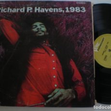 Discos de vinilo: RICHIE HAVENS RICHIE P. HEAVENS, 1983 - DOBLE LP ORIGINAL USA VERVE 1969 // PSYCH FOLK ROCK. Lote 166275434