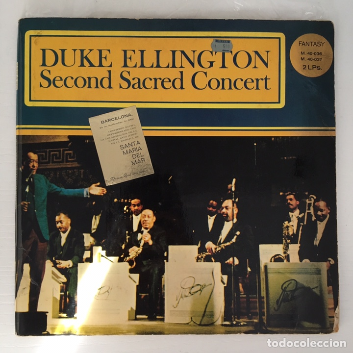 Discos de vinilo: LP - DUKE ELLINGtON - Second Sacred Concert - Foto 1 - 166275592
