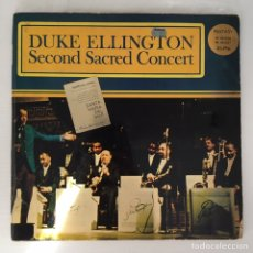 Discos de vinilo: LP - DUKE ELLINGTON - SECOND SACRED CONCERT. Lote 166275592