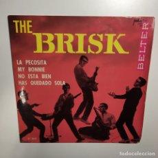 Discos de vinilo: EP - THE BRISK - LA PECOSITA. Lote 166279173