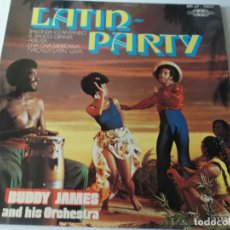 Discos de vinilo: BUDDY JAMES AND HIS ORCHESTRA – BUDDY JAMES' LATIN PARTY . Lote 166290982