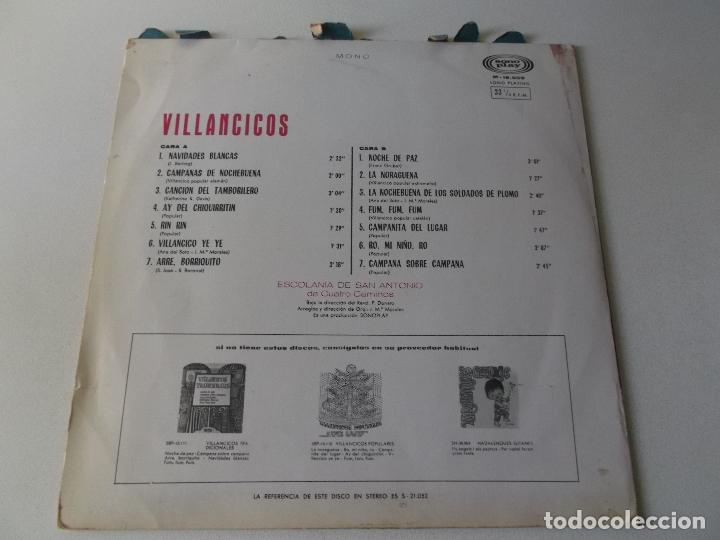 Discos de vinilo: villancicos,escolania de san antonio de cuatro caminos , vinilo rojo, sono play - Foto 2 - 166291426