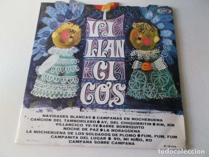 VILLANCICOS,ESCOLANIA DE SAN ANTONIO DE CUATRO CAMINOS , VINILO ROJO, SONO PLAY (Música - Discos - LPs Vinilo - Música Infantil)