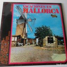 Discos de vinilo: PLANES Y LOS ROMBOS / LOST & FOUND / ENRIQUE MONTOYA, ETC - VACACIONES EN MALLORCA - LP 1970. Lote 166292422