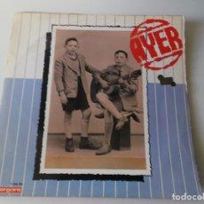 Discos de vinilo: LOS HERMANOS CALATRAVA AYER, HOY, 1970, VERGARA, ESTA CON LOS 2 ESQUELETOS, MIRAR FOTOS. Lote 166292942