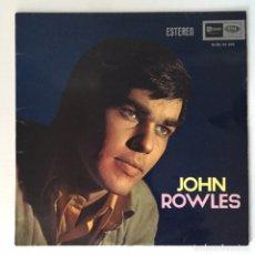 Discos de vinilo: LP - JOHN ROWLES (VINILO 1968). Lote 166293700