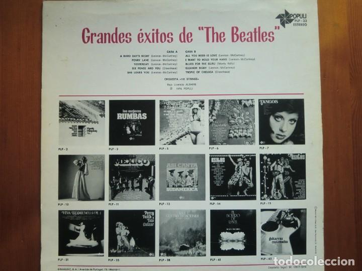 LP ORQUESTA 101 STRINGS: GRANDES ÉXITOS DE THE BEATLES (1974)