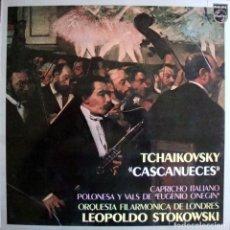 Discos de vinilo: TCHAIKOVSKY. CASCANUEVES. LEOPOLDO STOKOWSKI.. Lote 166311358