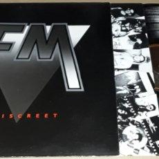 Discos de vinilo: LP - FM - INDISCREET - PROMO MADE IN ENGLAND - FM. Lote 166311509