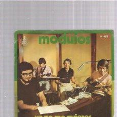 Discos de vinilo: MODULOS YA NO ME QUIERES. Lote 166312670