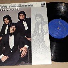 Discos de vinilo: LP - LOS CHICHOS - SON ILUSIONES - LOS CHICHOS. Lote 166312736