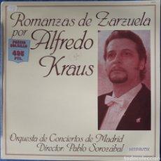 Discos de vinilo: VINILO ALFREDO KRAUS ROMANZAS DE ZARZUELA. Lote 166316437