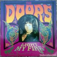 Discos de vinilo: THE DOORS. LIGHT MY FIRE/ PEOPLE ARE STRANGE/ SOUL KITCHEN. ELEKTRA GERMANY 1991 MAXI-LP 12'' 45 RPM. Lote 166318622