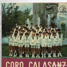 Discos de vinilo: EP1973 ESCUELAS PÍAS TENERIFE BÁSICA CORO CALASANZ DIRIGE MERCEDES BRUNETO. Lote 166321494