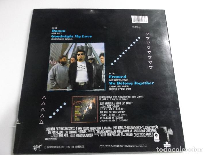 Discos de vinilo: los lobos donna, 4 temas , 1987 ed española - Foto 2 - 166324890