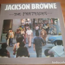 Discos de vinilo: JACKSON BROWNE - THE PRETENDER ***** RARO LP ESPAÑOL WB 1976. Lote 166336538