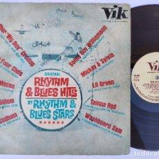 Discos de vinilo: RHYTHM & BLUES HITS - RARO LP SPAIN - BY RHYTHM & BLUES STARS * VIK 3013 * AÑO 1964. Lote 166357174