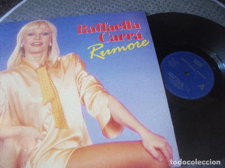 RAFFAELLA CARRA, RUMORE , MAXI SINGLE, EDICION ESPAÑOLA , DIVUCSA, BCN RECRDS, DESCATALOGADO (Música - Discos de Vinilo - Maxi Singles - Canción Francesa e Italiana)