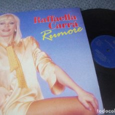 Discos de vinilo: RAFFAELLA CARRA, RUMORE , MAXI SINGLE, EDICION ESPAÑOLA , DIVUCSA, BCN RECRDS, DESCATALOGADO. Lote 166369494