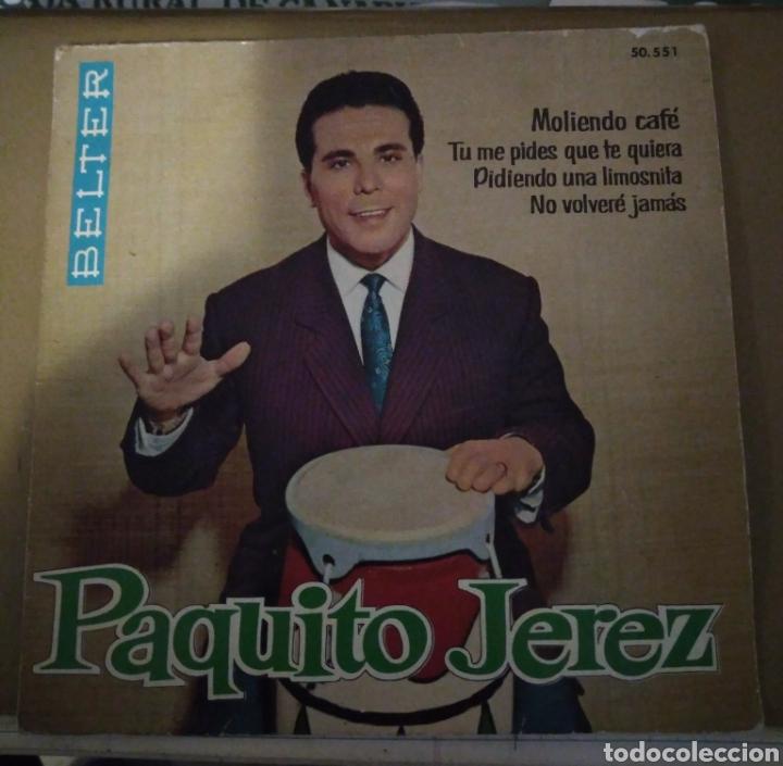 PAQUITO JEREZ - MOLIENDO CAFE + 3 (Música - Discos de Vinilo - EPs - Flamenco, Canción española y Cuplé)
