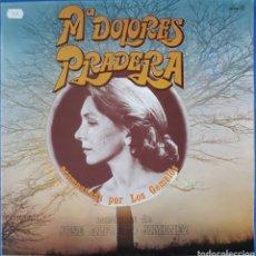 Discos de vinilo: VINILO MARÍA DOLORES PRADERA ACOMPAÑADA POR LOS GEMELOS. Lote 166378852