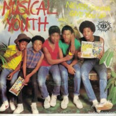 Discos de vinilo: MUSICAL YOUTH - NEVER GONNA GIVE YOU UP / RUB N DUB (SINGLE ESPAÑOL, MCA RECORDS 1983). Lote 166384246