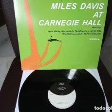 Discos de vinilo: MILES DAVIS - AT CARNEGIE HALL VOL.2 PRECINTADO. Lote 166387818