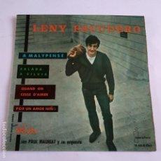 Discos de vinilo: EP LENY ESCUDERO - A MALYPENSE. Lote 166390850