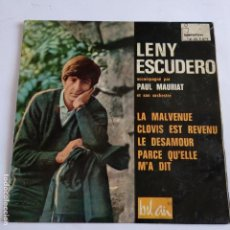 Discos de vinilo: EP LENY ESCUDERO - LES MALVENUE. Lote 166390882